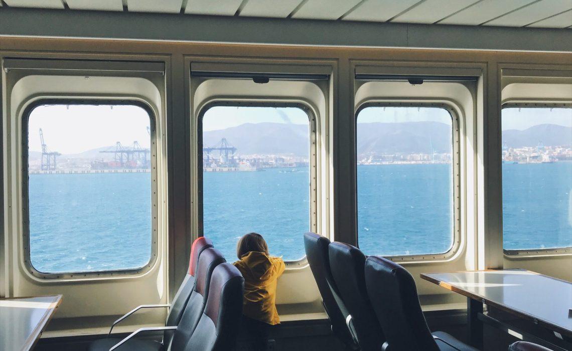 le ferry vers le Maroc