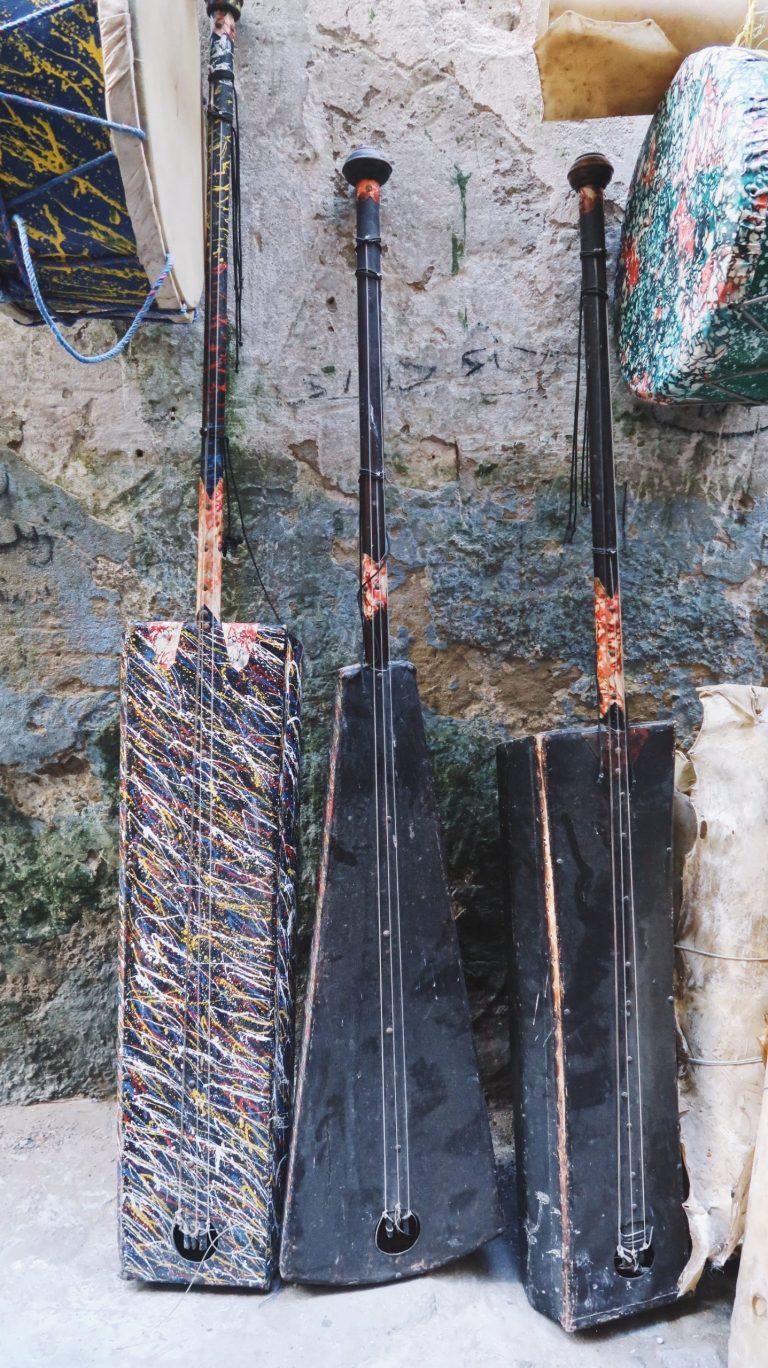 Instruments de musiques à Essaouira