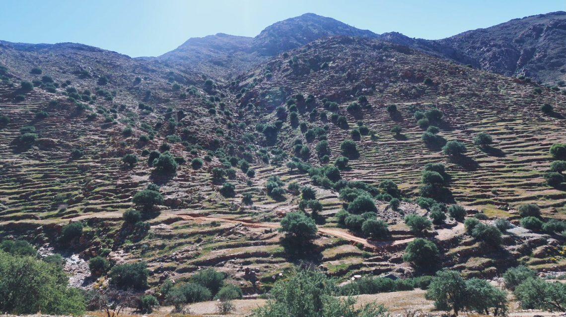 Voyage au Maroc collines autour de Tafraout