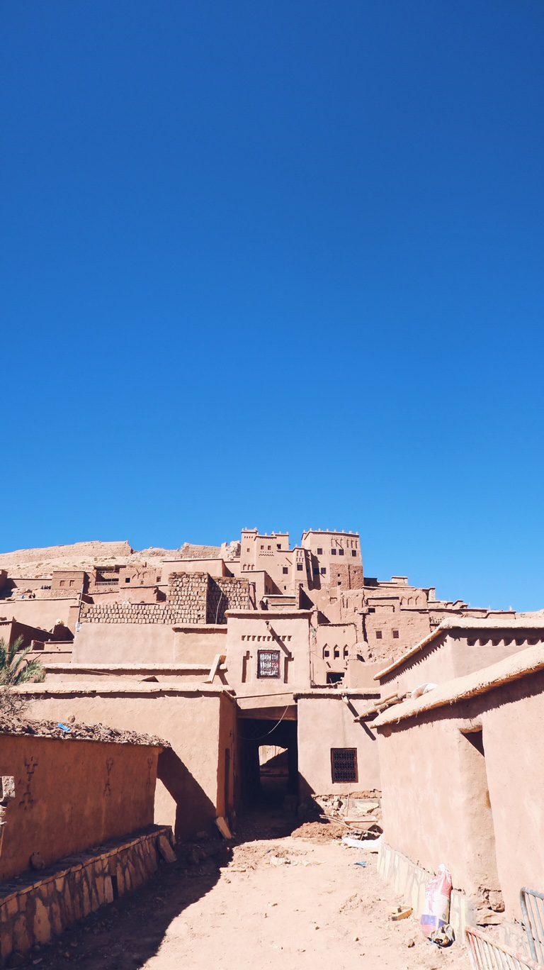 Voyage au Maroc Aït Ben Haddou, entrée Ksar