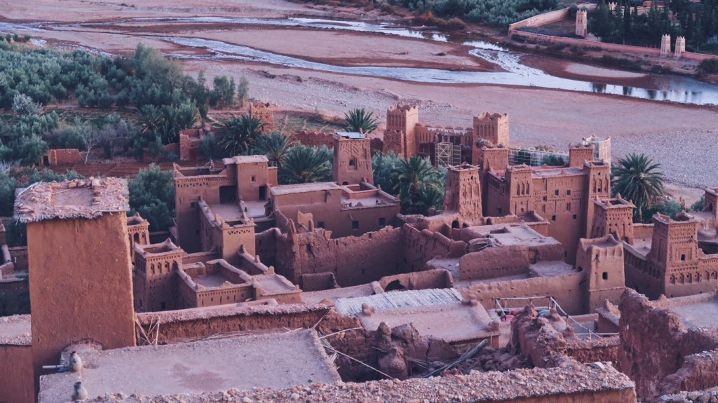 Voyage au Maroc Aït Ben Haddou, vue panoramique sur Kasbah