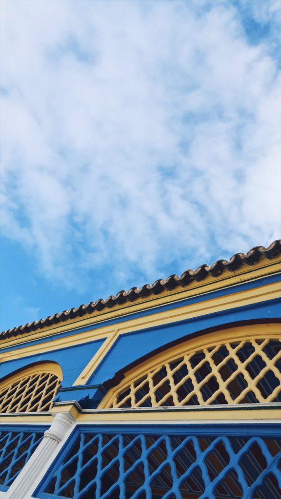 Voyage au Maroc Marrakech détail du palais bahia
