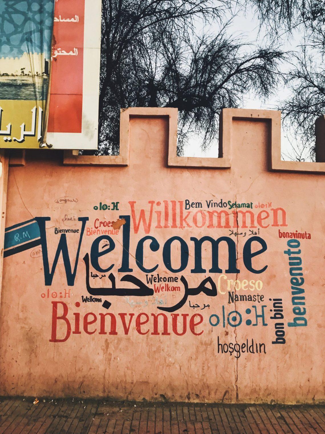 Voyage au Maroc Taroudant welcome bienvenue