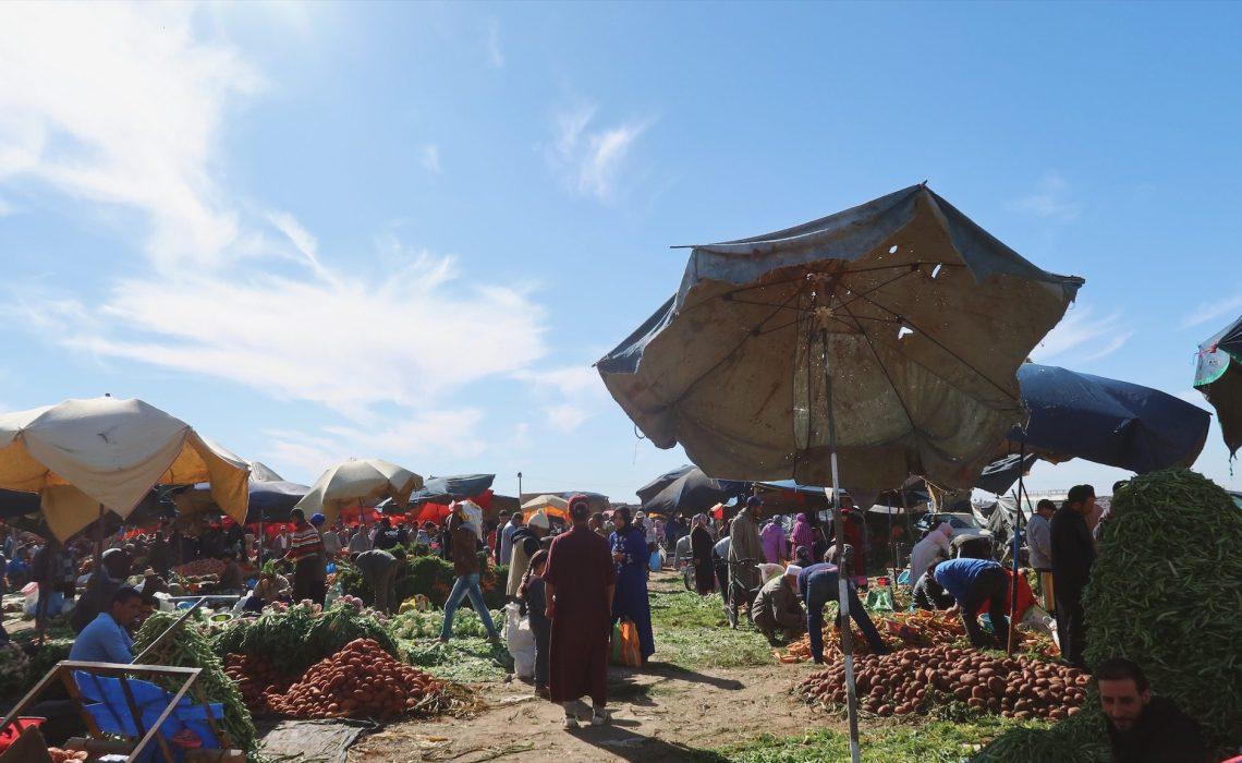 Voyage au Maroc, marché à Taroudant