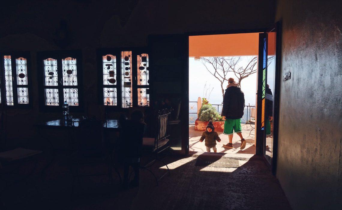 Voyage au Maroc Tizi-n-Test auberge-restaurant La Belle Vue Rimi et Paul