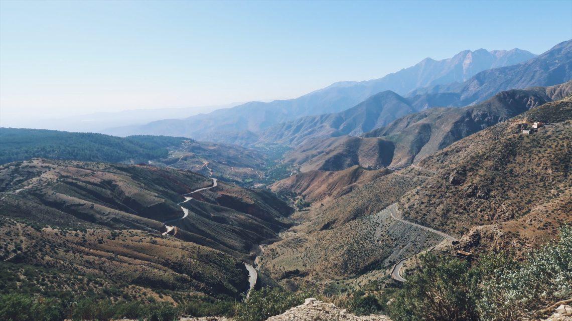 Voyage au Maroc le col du Tizi-n-Test