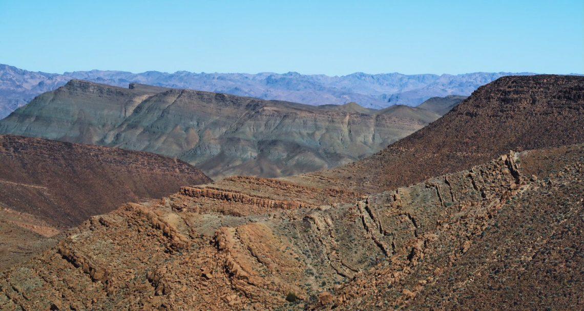 Voyage au Maroc route Tizi n'tichka montagnes