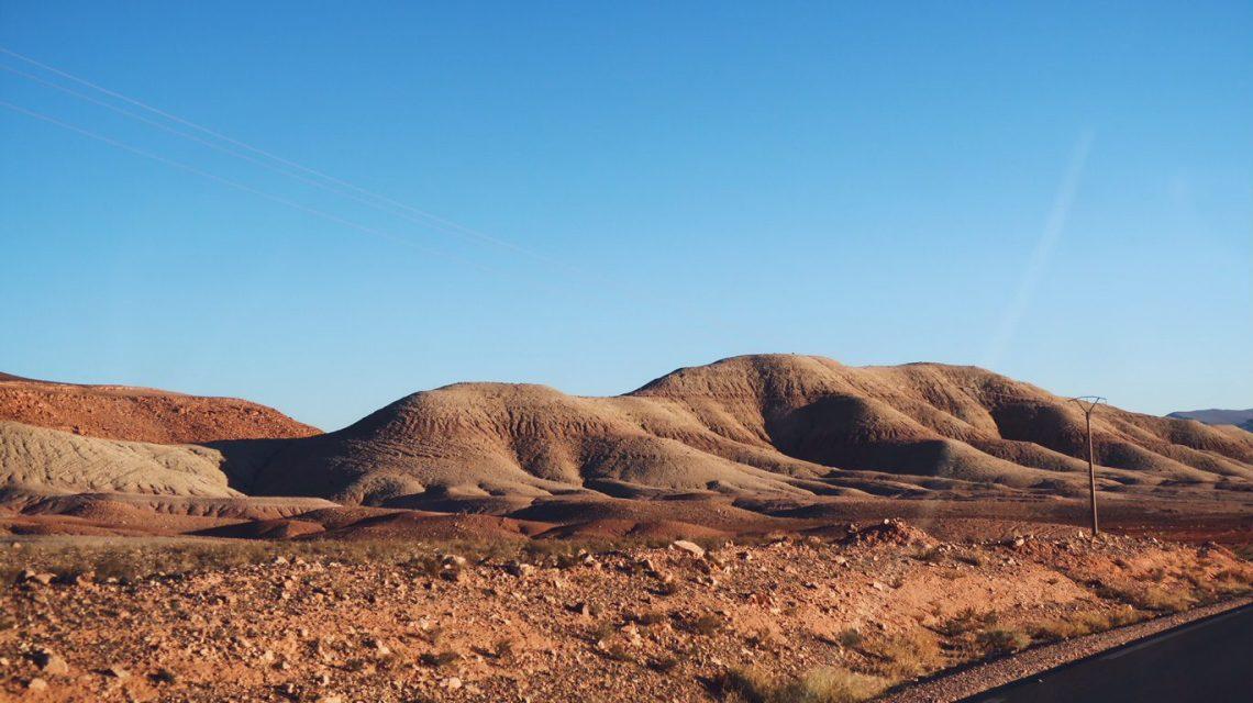 Voyage au Maroc Tizi n'Tichka collines