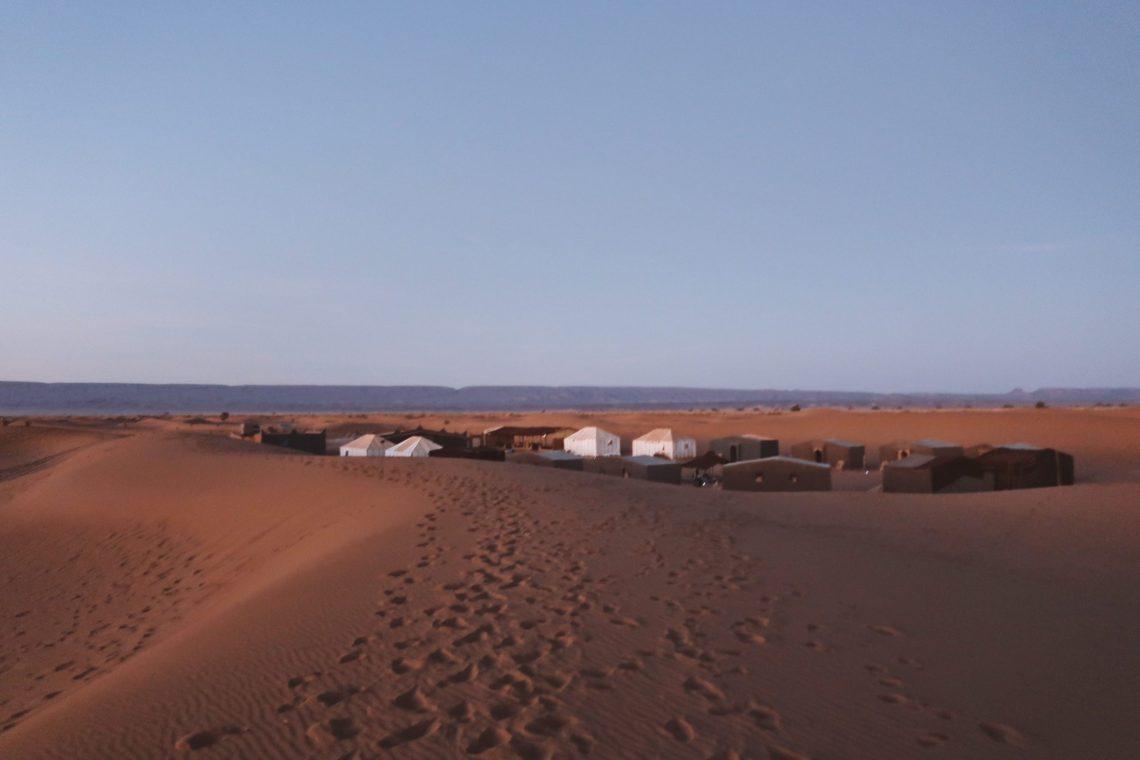 Voyage au Maroc Desert Sahara Erg Chegaga bivouac chez zaïd