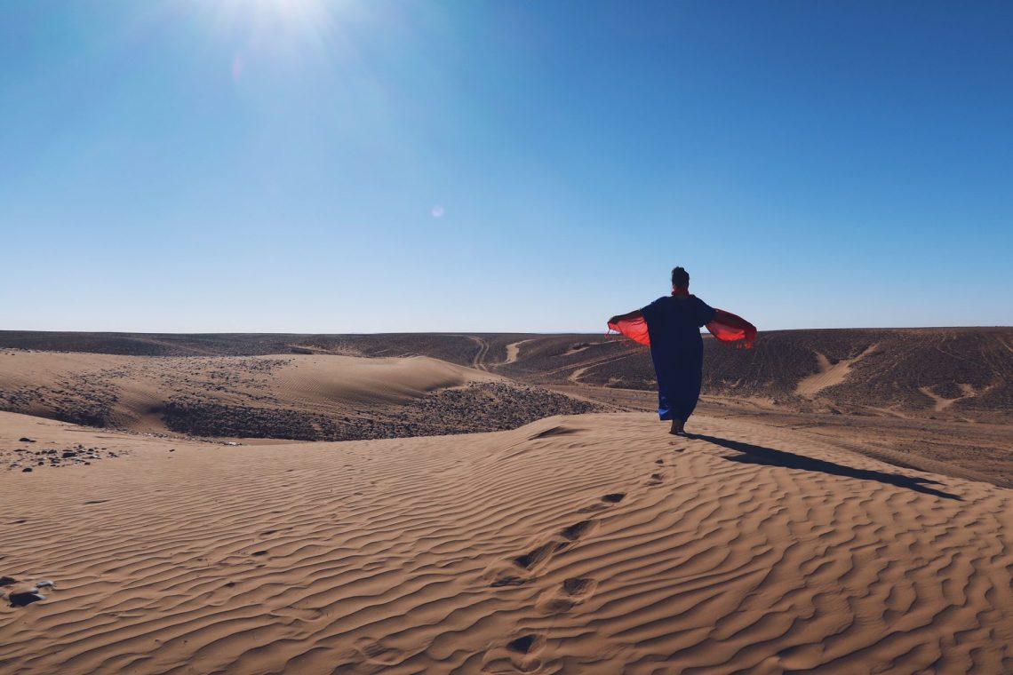Voyage au Maroc excursion Desert Sahara Erg Chegaga nomade