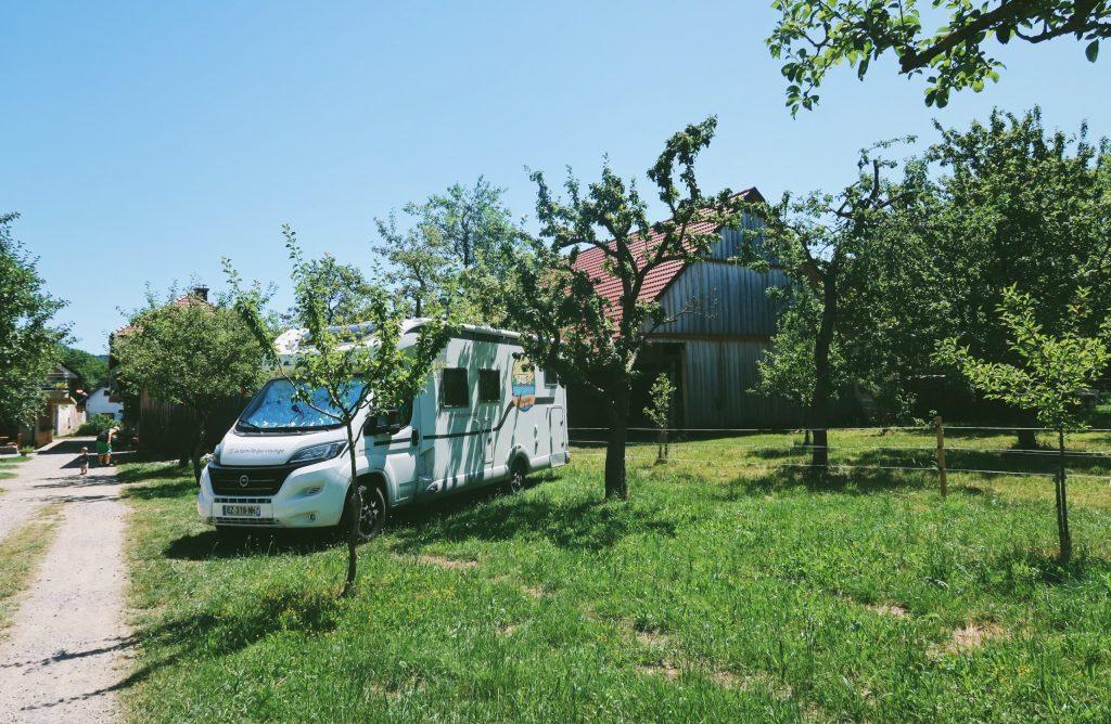 Slovénie camping a la ferme