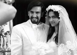 Deepika in La Fantaisie Gown