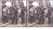 August Fuhrmann- Installazione di un lampione a gas - Berlino 1890