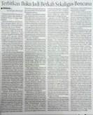 [Sambungan] Profil di Halaman Metropolis Jawa Pos edisi Jumat 16 Oktober 2015