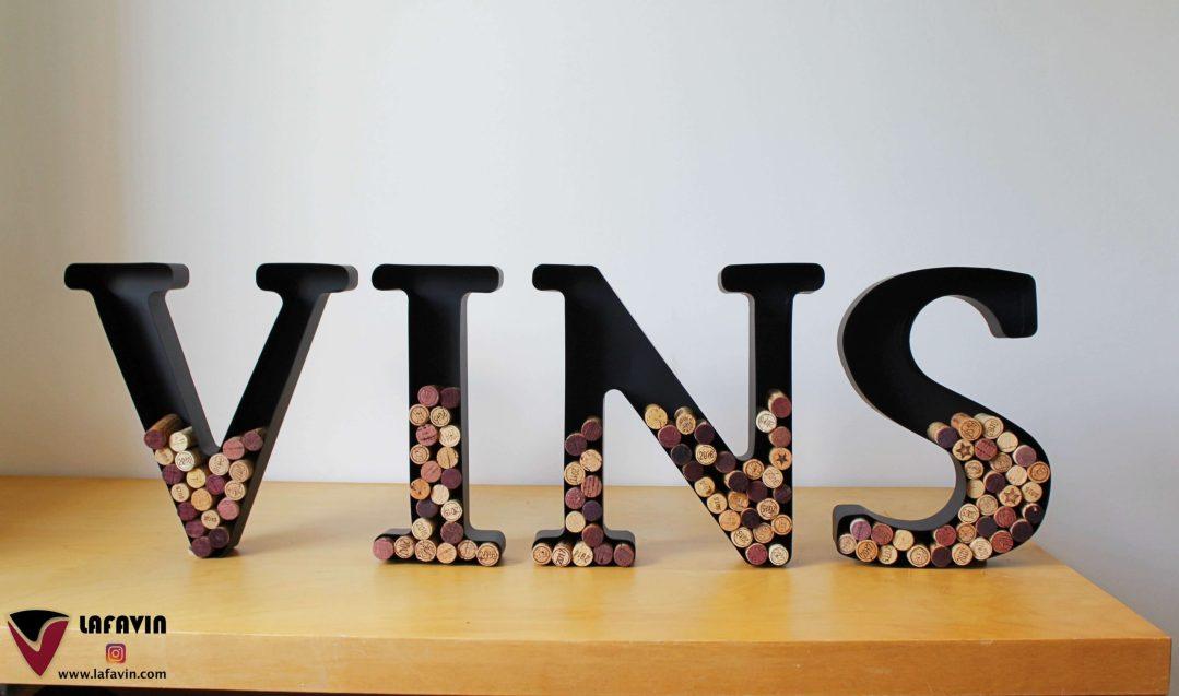 Lettres VINS - LAFAVIN