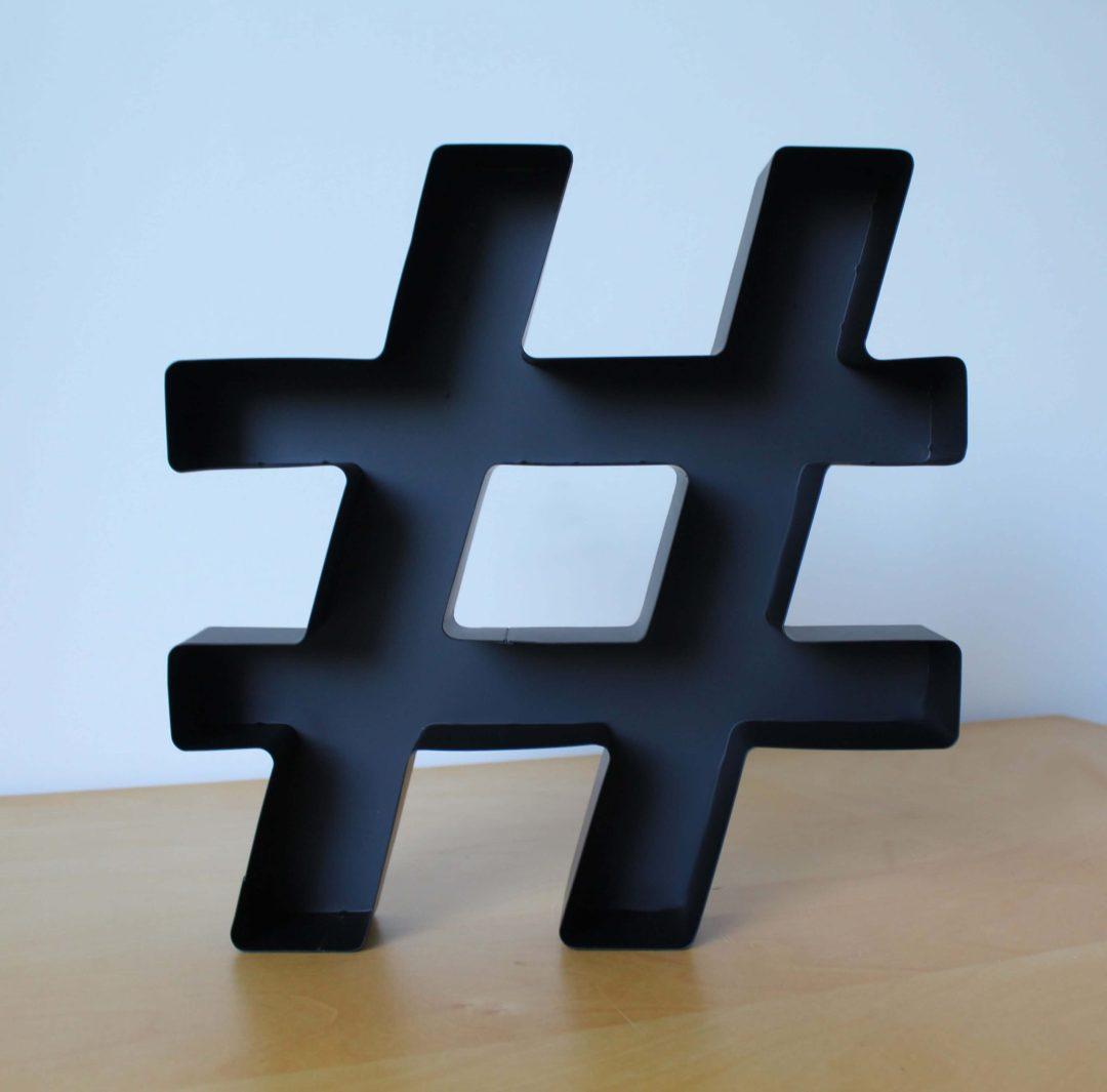 Symbole hashtag lafavin