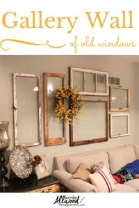 Cleaver Ways to use Old Windows - Lafayette Antiques ...