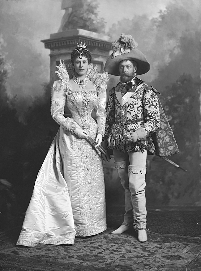 King George V Amp Queen Mary At The Devonshire House Ball