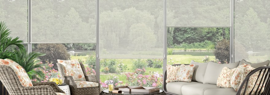 Light Filtering Shades Create a Relaxing Atmosphere