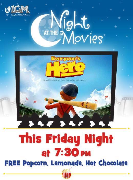 LCM Movie night this week