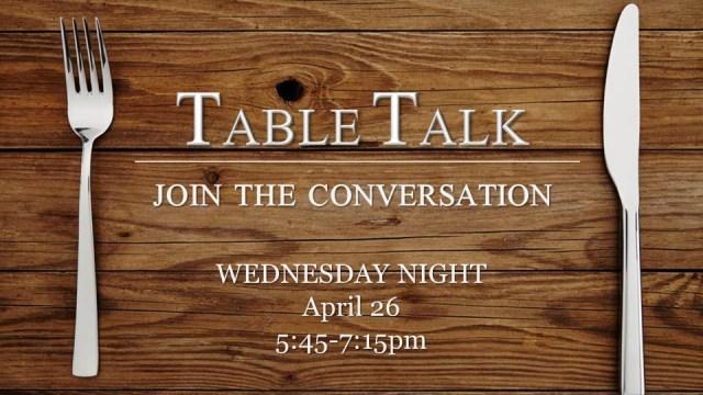 Table Talk photo