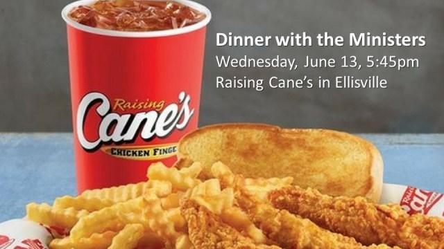 Raising Canes June 13