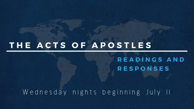 the acts of apostles (2)