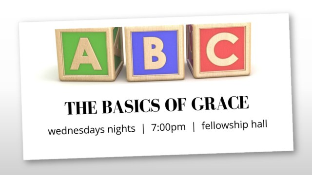 The Basics of Grace