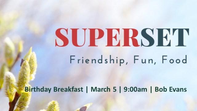 3.5.2020 Superset Breakfast