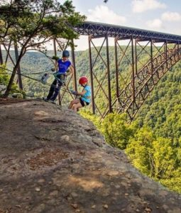 Rock Climbing in the New River Gorge is Quite and Adventure