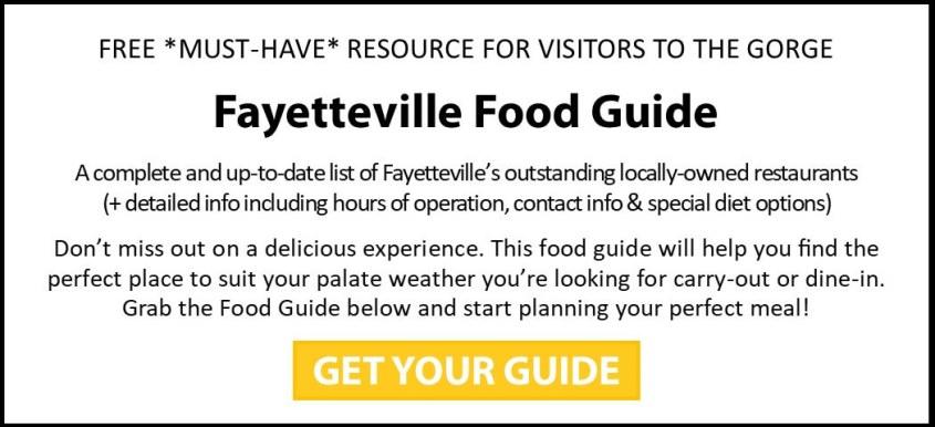 Fayetteville Food Guide