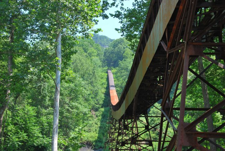 Nuttallburg Coal Mining Complex in West Virginia.