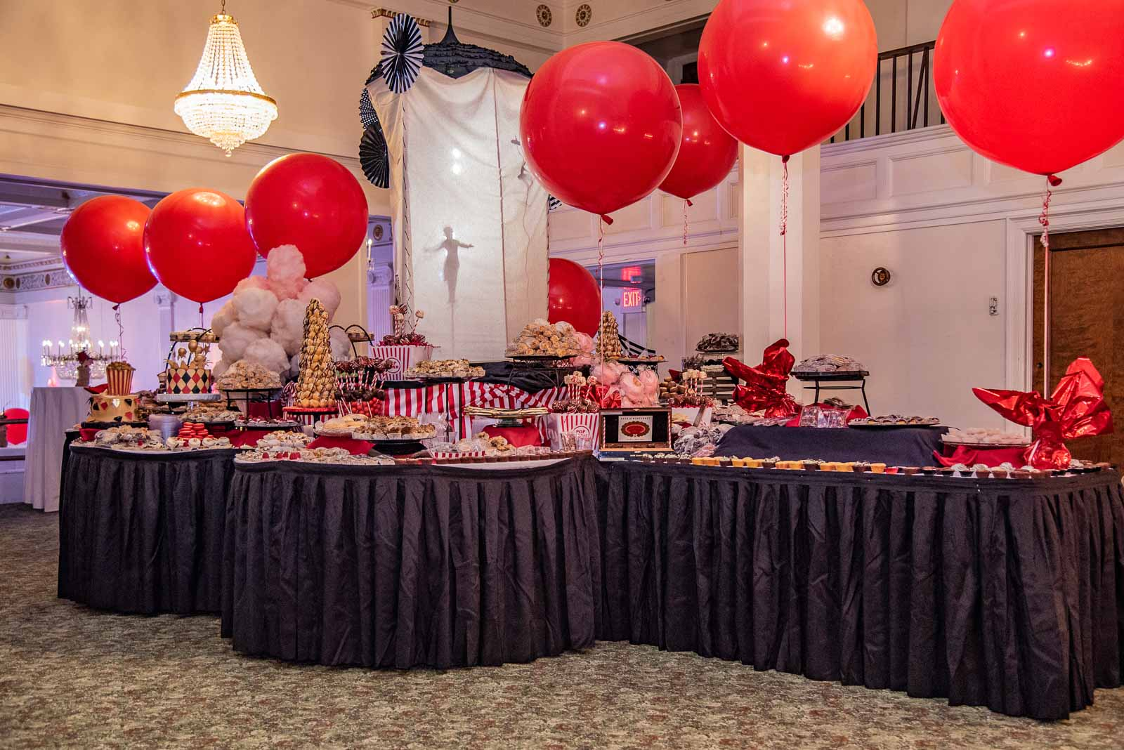 Corporate Party Catered Food Spread