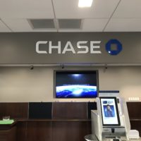 Chase Bank Logo installation