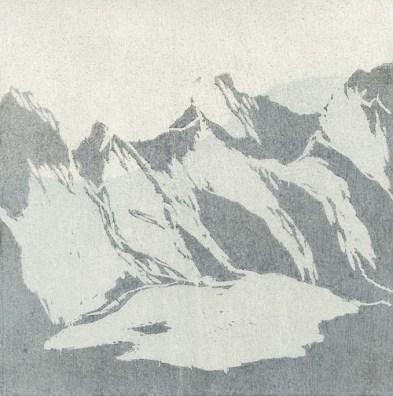 Untitled (Peaks) by Isobel Adams