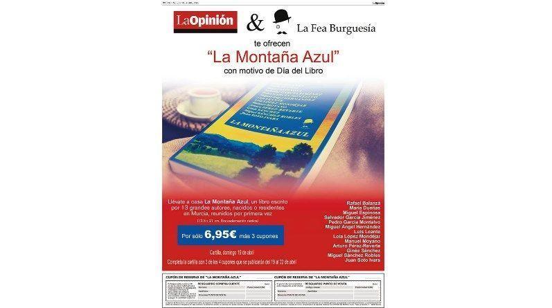 """El diario La Opinión junto a La Fea burguesía ofrece a sus lectores el libro """"La Montaña Azul"""" a un precio increíble"""