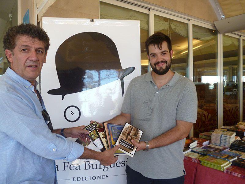 Entrega del premio del Concurso de microrrelatos Paparajote