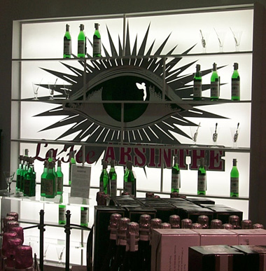 La Fée mirror at Selfridges