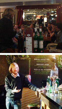 Master Class training with la Fée absinthe
