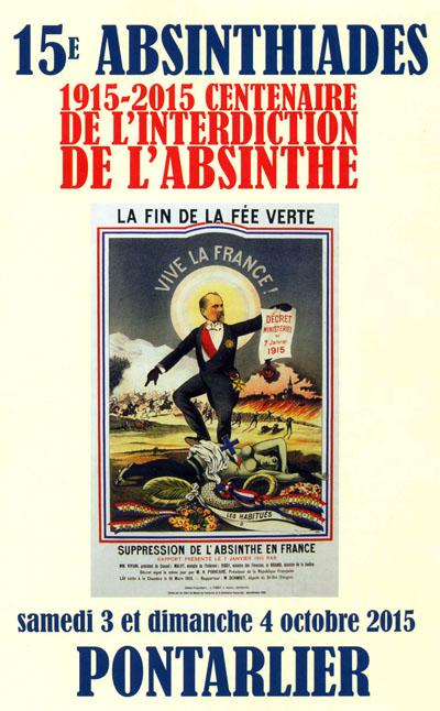 absinthiades poster 2015