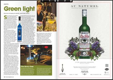 Bar magazine article