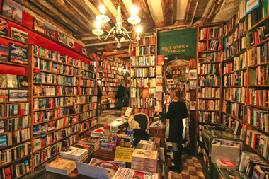 Inside Shakespeare & Co Bookshop Paris