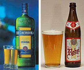 rebel beer & beckerovka