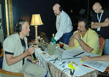 George Rowley in radio interview at Tales of the cocktail