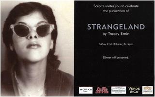 Invite to Strangeland by Tracey Emin