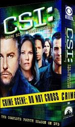 CSI DVD Cover