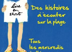Juillet et Août : Des histoires à écouter sur la plage