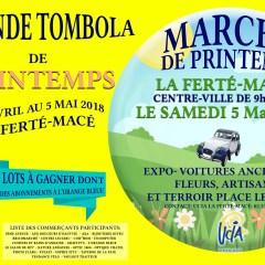 Du 26 avril au 5 mai : Grande Tombola et Marché de Printemps
