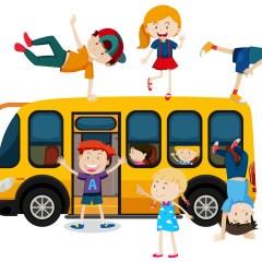 Le Bus à Jeux, à la Ferté-Macé le 17 juillet