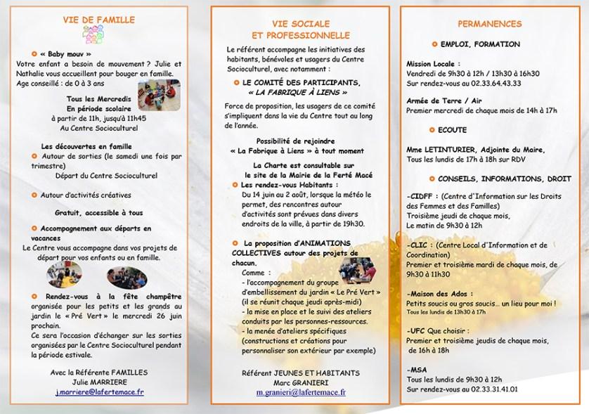 Centre Socioculturel Juin 2019
